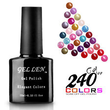 300 Color 10ml Soak off Gel Nail Polish UV Led Lamp  Nail Art Shiny Lacquer  Tip