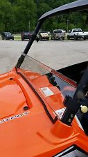 "Polaris RZR,RZR S,RZR900,RZR4 9""Clear Half Windshield 3/16 Thick Polycarbonate!"