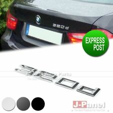 320d REAR TRUNK LETTER EMBLEM BADGE STICKER for ALL BMW 3 SERIES E90 E91 E92 E93