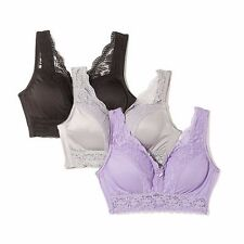 Rhonda Shear  Pin Up Lace Leisure Bra - choose color & size
