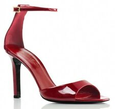 $650 New Tamara Mellon WHISPER Red Patent Leather Sandals Jimmy Choo Founder 90