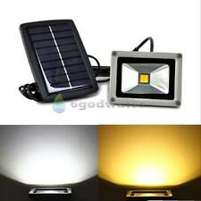 10W Solar Power LED Flood Night Light Garden Spotlight Waterproof Outdoor Lamp 6