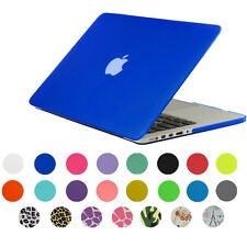 Rubberized Hard Case Shell For Macbook Air Pro Retina 11/13/15 +Keyboard Cover