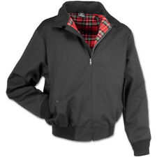 BRANDIT LORD CANTERBURY MENS JACKET CLASSIC ENGLISH HARRINGTON DESIGN COAT BLACK