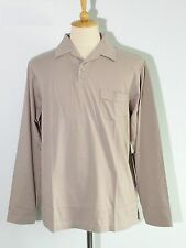 *NEW Patagonia L/S Polo Shirt Long-Sleeve Men' Organic Cotton Top Size M