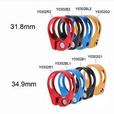 Mountain Bicycle MTB Bike 31.8mm Quick Release Seat Post Clamp Tube Clip AF