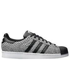 ADIDAS ORIGINALS SUPERSTAR SNAKE PACK S81728 CORE BLACK/FTW WHITE - REFLECTIVE