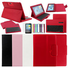 "Bluetooth Keyboard Case Cover For Samsung Galaxy Note 10.1"" GT-N8013 N8000 N8010"