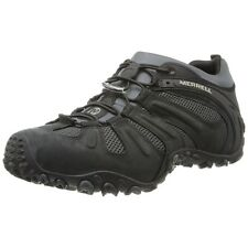 Men's Merrell Chameleon Prime Stretch Black Hiking Shoes Trail Boots NEW J21413