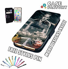 Paul Walker RIP Supra & Skyline - Mobile Leather Flip Wallet Phone Case Cover