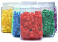 100 x 12 mm Quality Clip On Leg Rings for Poultry, Chickens, Ducks, Hens, Bantam
