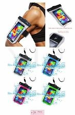 Universal Waterproof Bag Underwater Dry Pouch Case Cover with Lanyard & Armband