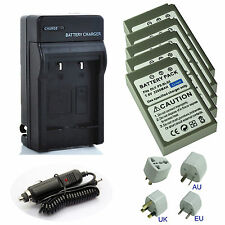 Battery / Charger for Olympus BLS-5,BLS5,BLS-50, Stylus 1, Stylus 1s,OM-D, E-M10