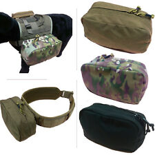 Horizontal Utility Side Molle Pack Butt Pouch (3 colors option)