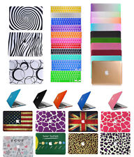 """Laptop Rubberized Hard Case Shell Cover for Macbook 12""""Pro13""""15""""Retina Air11""""13"""""""