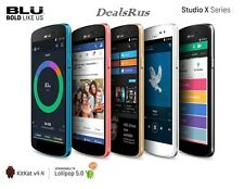 New BLU Studio X D750U Dual SIM 4G Unlocked 8MP 8GB GSM Android Phone