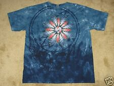 Grateful Dead All Over SYF Manufacture Defect Large Tie Dye T-Shirt