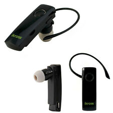 iKross Wireless Bluetooth Handfree Headset Stereo Earphone For Cell Phone Tablet