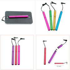 Delicate Universal Metal Anti-Dust Cap Touch Screen Pen iPad iPhoneTablet Stylus