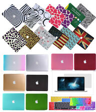 "MacBook Rubberized Hard Shell Case Cover For Mac PRO13""/15""Air11""13""+Free Gifts"