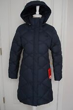 NWT THE NORTH FACE WOMENS MISS METRO PARKA DOWN PUFFER URBAN NAVY XL