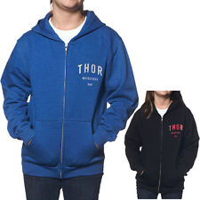 Thor MX Shop Zip Up Sweatshirt Jacket Kids Girls Youth Hoody