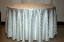 200CM Round New Tablecloth Table Cover for Restaurant Wedding Home Decor Dining