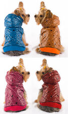 Snuggles Hooded Dog Coat - Designer Autumn / Winter Apparel For Small Dogs