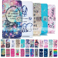 Vogue Design Card Wallet Body Leather Flip Stand Case Cover For Samsung Galaxy