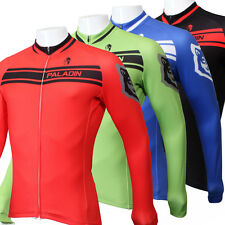 Paladin Long Sleeve Men's Cycling Jerseys 4 Colors Bike Bicycle Cycling Top