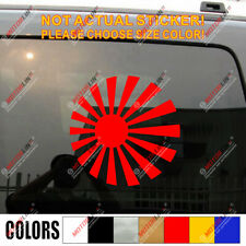 Japanese Rising Sun Roundel Variant flag of Japan Naval Car Decal Sticker vinyl