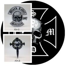 Black Label Rock Band Sticker Vinyl Decal Heavy Metal Music Logo Car Window Free