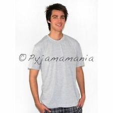 Mens Cotton Short Sleeve T-shirt - Grey -  sz S-XXL Sz S M L XL XXL