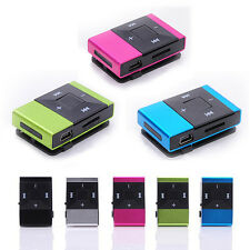 Brand New Mini USB Clip Digital Mp3 Media Music Player Support 8GB SD TF Card