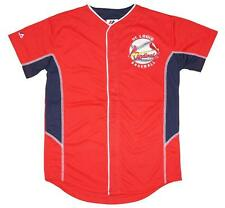 NWT Majestic St. Louis Cardinals MLB Youth 8-20 Team Leader Jersey - Red