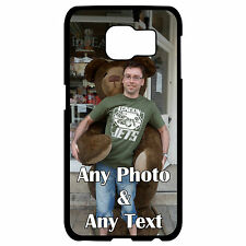 PERSONALISED ANY PHOTO ANY IMAGE PRINT SAMSUNG GALAXY S6 HARD PLASTIC CASE/COVER