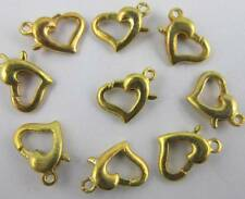 Free shipping 20/40/80pcs delicate heart Jewelry accessories alloy clasps Hooks