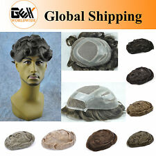 GEX Fine Mono+Poly Base Mens HairPiece Wig Toupee Replacement System Versalite