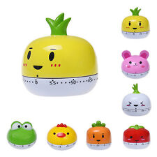 Home Decoration Timer Kitchen 60 Minute Cooking Mechanical Cute Style Timers