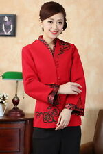 wholesale red Chinese Charming Women's evening Jacket/coat SZ:S-3XL J0062-C