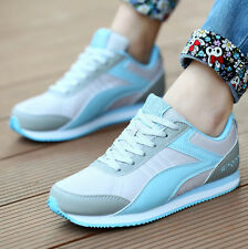 Women Fashion Casual Lace sport Running shoes Gump Comfort Breathable Flats Z6