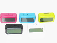 Large LCD Optically Controlled Digital Alarm Clock With Backlight & Calendar