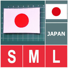 JAPAN NATIONAL FLAG FLAG SEW ON PATCH IRON ON PATCH EMBROIDERED SMALL M