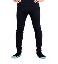 Thermals Mens Cotton Thermal Underwear Long Johns Pants Black Sz S M L XL XXL