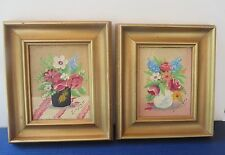 Frank Linnell Pr. Oil Paintings  Floral