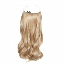 """100% Human Remy HALO Hair Extension, Flip In, Wire Headband Crown Extensions 20"""""""