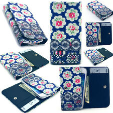 Pattern Card Wallet Leather Case Cover For Phone Samsung LG Sony Huawei