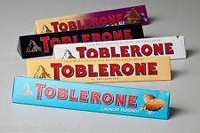 Toblerone Chocolate Bars 400 g ( 14.00 oz ) Made in Switzerland All Types