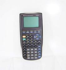 TEXAS INSTRUMENTS TI-83 SCIENTIFIC GRAPHIC CALCULATOR W/COVER SCHOOL OFFICE