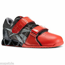New Women's REEBOK Lifter Plus Crossfit Cross Training Sneakers V60042 Black Red